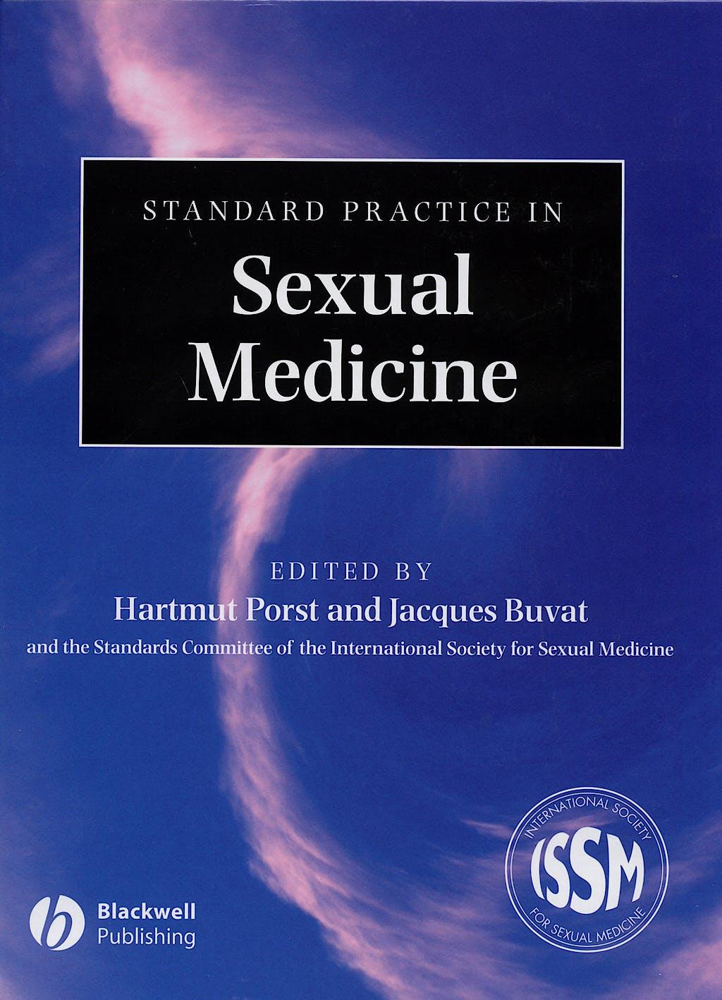 Portada del libro 9781405157193 Standard Practice in Sexual Medicine