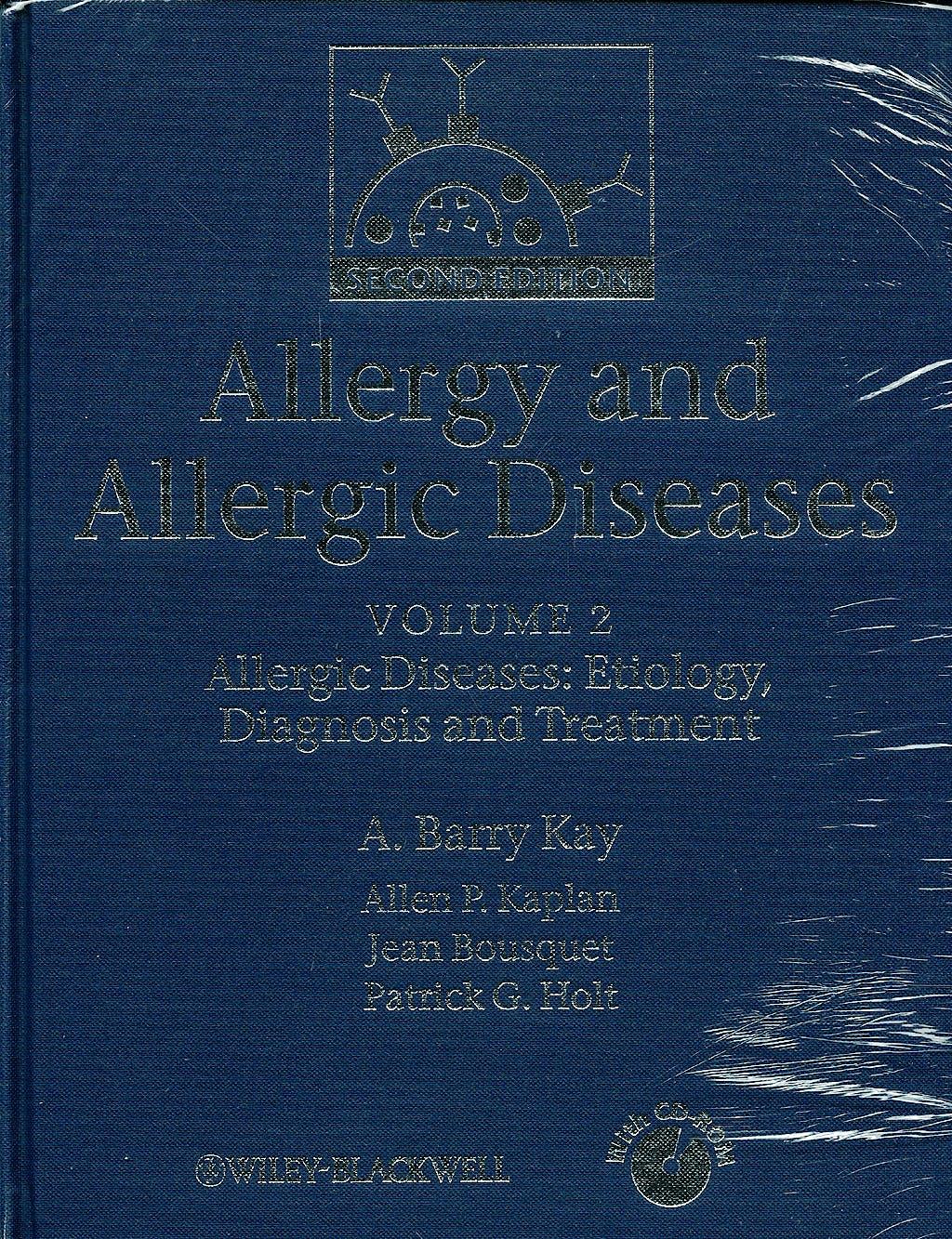 Portada del libro 9781405157209 Allergy & Allergic Diseases - 2 Vol. + Cd-Rom