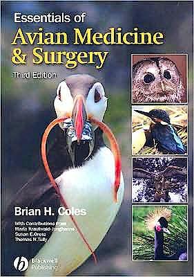 Portada del libro 9781405157551 Essentials of Avian Medicine and Surgery