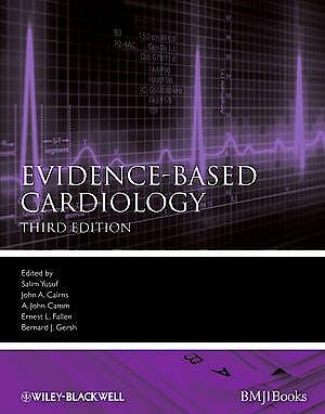Portada del libro 9781405159258 Evidence-Based Cardiology
