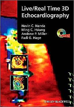 Portada del libro 9781405161411 Live/real Time 3d Echocardiography + Dvd