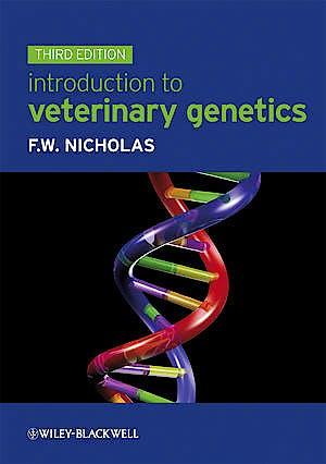 Portada del libro 9781405168328 Introduction to Veterinary Genetics