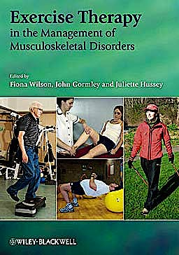 Portada del libro 9781405169387 Exercise Therapy in the Management of Musculoskeletal Disorders