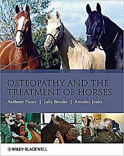 Portada del libro 9781405169523 Osteopathy and the Treatment of Horses