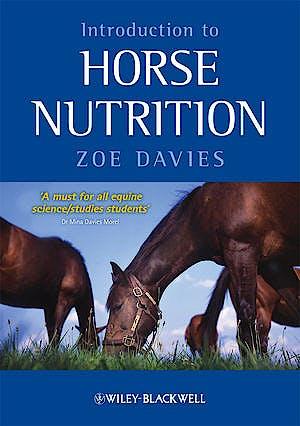 Portada del libro 9781405169981 Introduction to Horse Nutrition