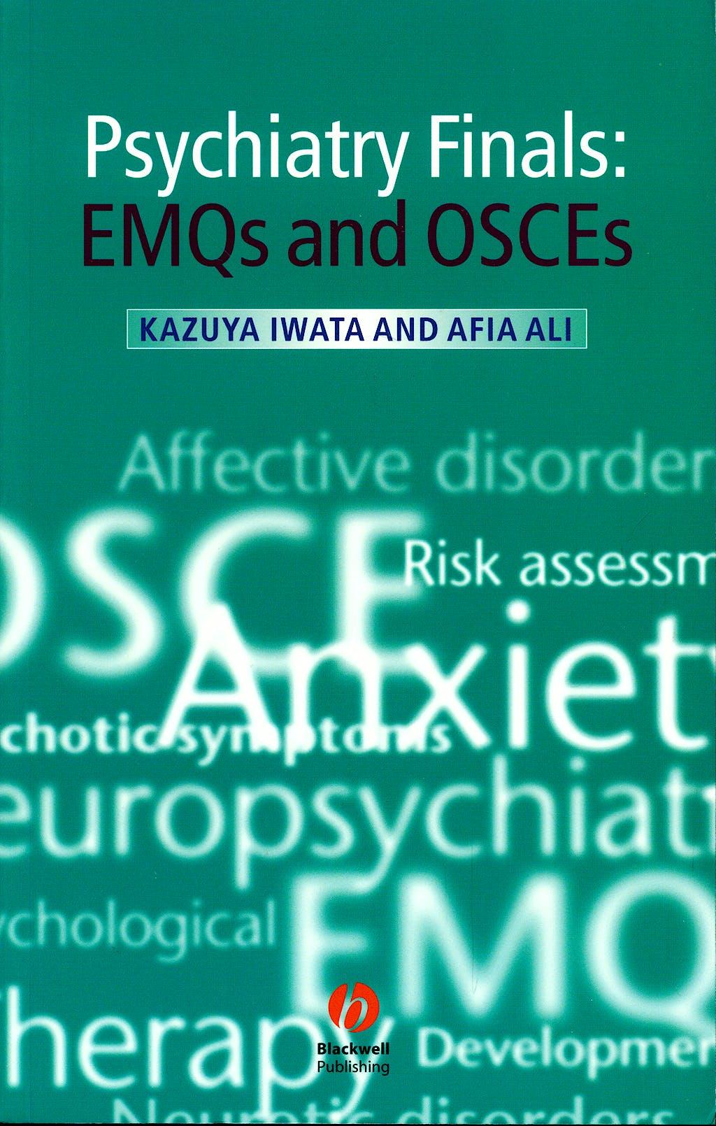Portada del libro 9781405175272 Psychiatry Finals: Emqs and Osces
