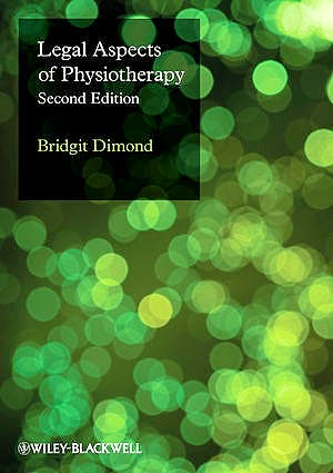 Portada del libro 9781405176156 Legal Aspects of Physiotherapy