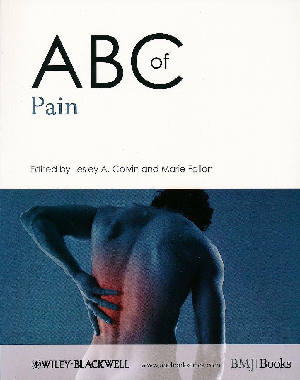 Portada del libro 9781405176217 Abc of Pain
