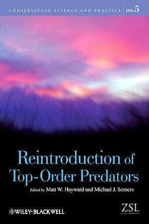 Portada del libro 9781405176804 Reintroduction of Top-Order Predators