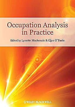 Portada del libro 9781405177382 Occupation Analysis in Practice
