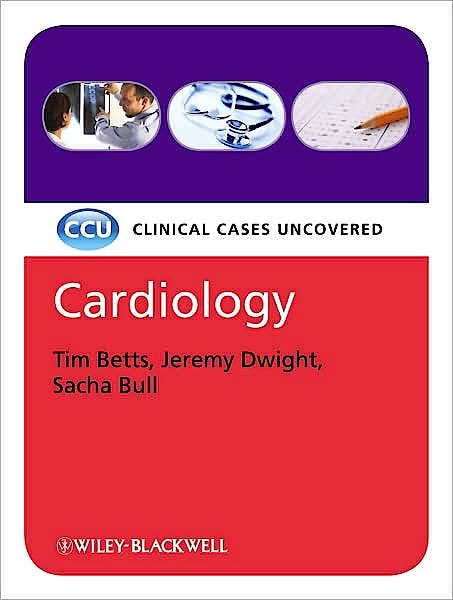 Portada del libro 9781405178006 Cardiology. Clinical Cases Uncovered