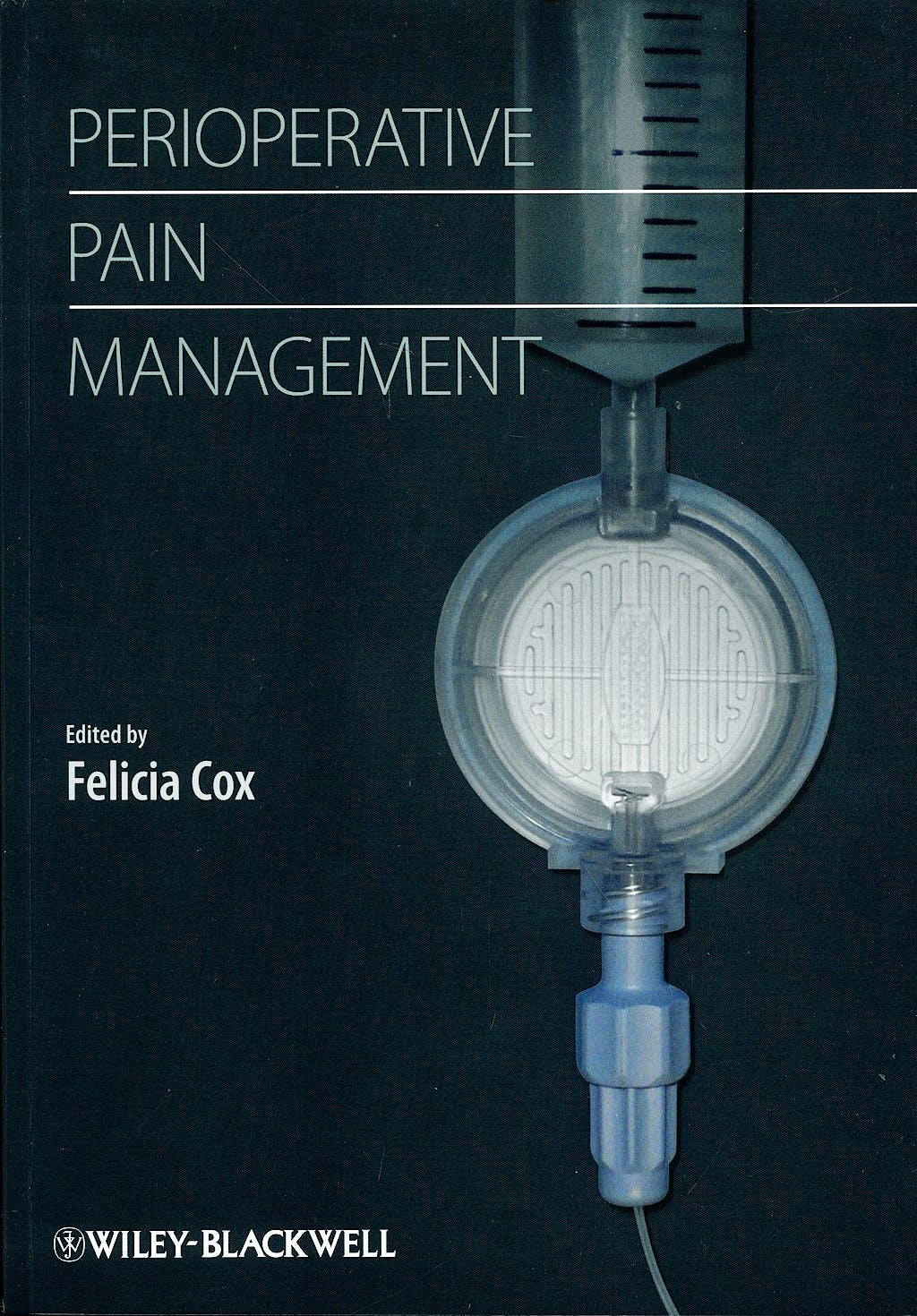 Portada del libro 9781405180771 Perioperative Pain Management