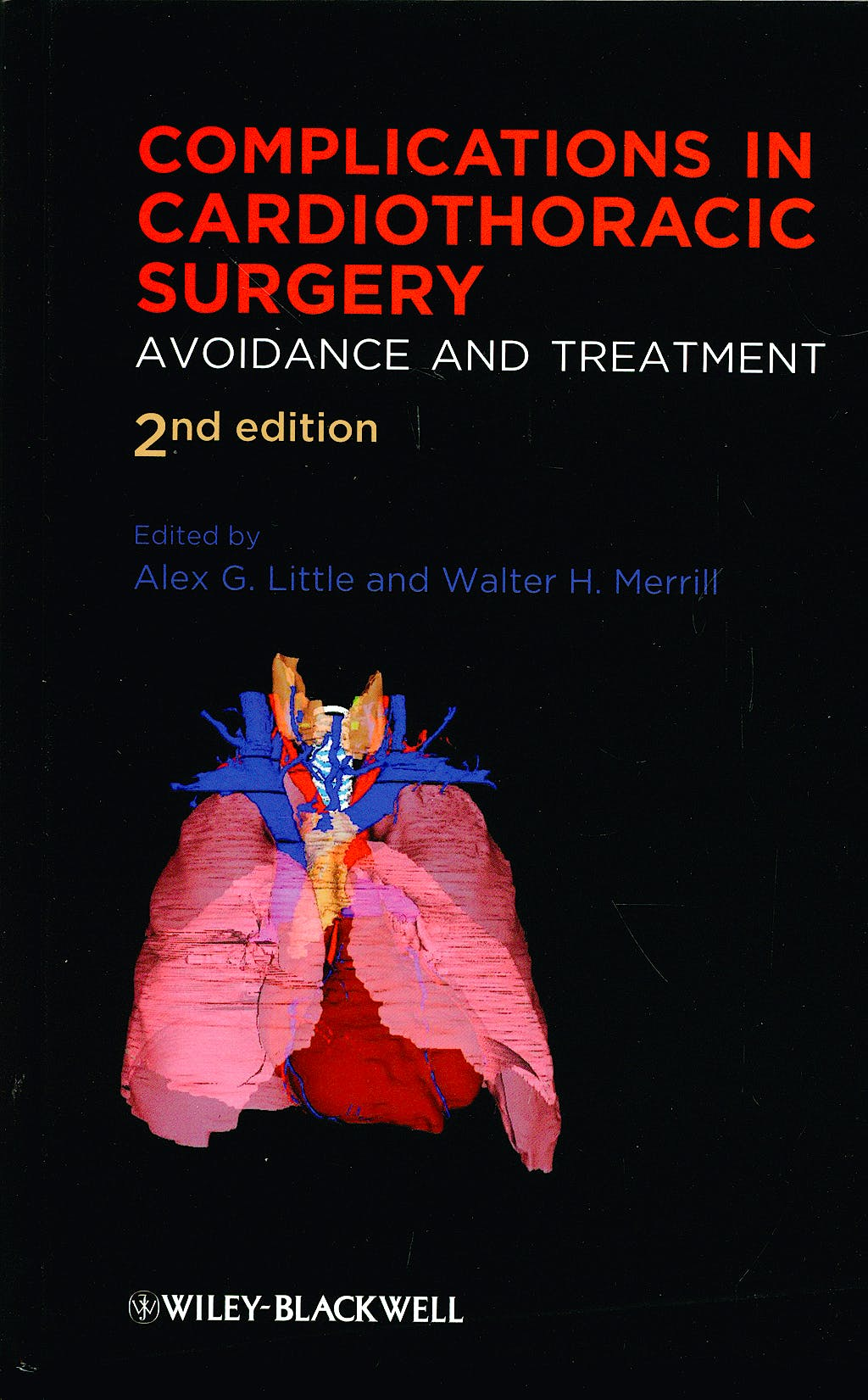 Portada del libro 9781405181037 Complications in Cardiothoracic Surgery. Avoidance and Treatment