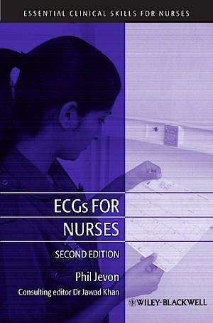 Portada del libro 9781405181624 Ecgs for Nurses