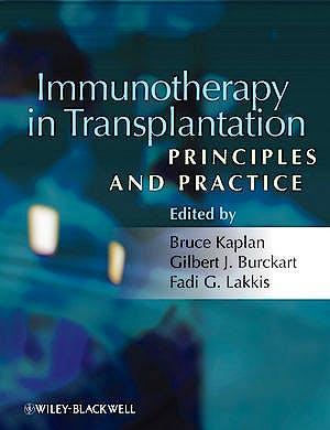 Portada del libro 9781405182713 Immunotherapy in Transplantation. Principles and Practice