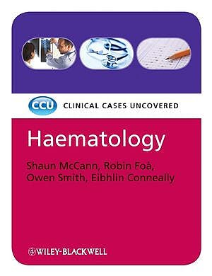 Portada del libro 9781405183222 Haematology: Clinical Cases Uncovered