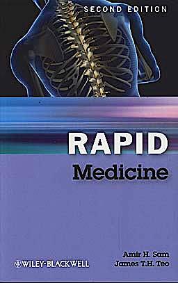 Portada del libro 9781405183239 Rapid Medicine