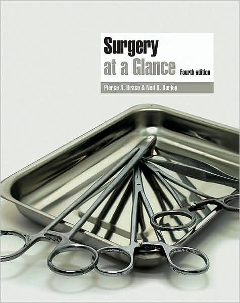 Portada del libro 9781405183253 Surgery at a Glance