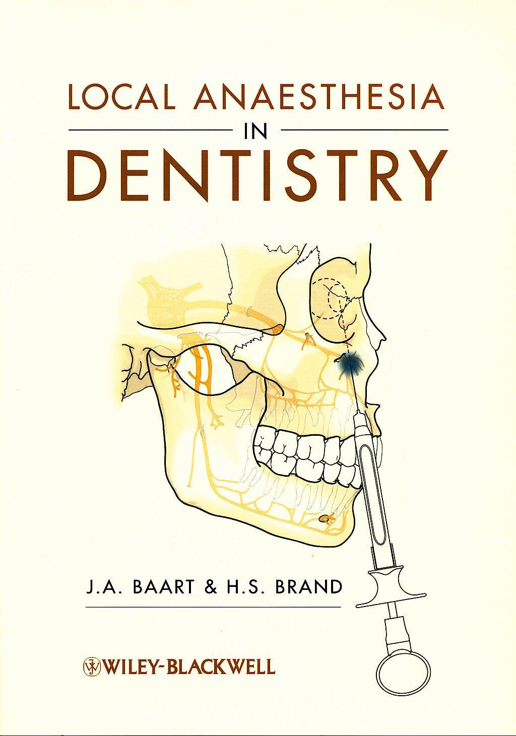 Portada del libro 9781405184366 Local Anaesthesia in Dentistry