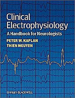 Portada del libro 9781405185295 Clinical Electrophysiology. a Handbook for Neurologists