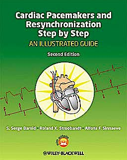 Portada del libro 9781405186360 Cardiac Pacemakers and Resynchronization Step by Step. an Illustrated Guide