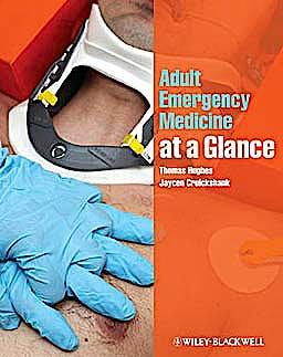 Portada del libro 9781405189019 Adult Emergency Medicine at a Glance