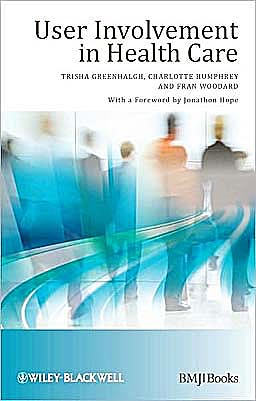 Portada del libro 9781405191494 User Involvement in Health Care