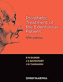 Portada del libro 9781405192613 Prosthetic Treatment of the Edentulous Patient