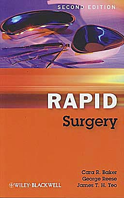Portada del libro 9781405193290 Rapid Surgery