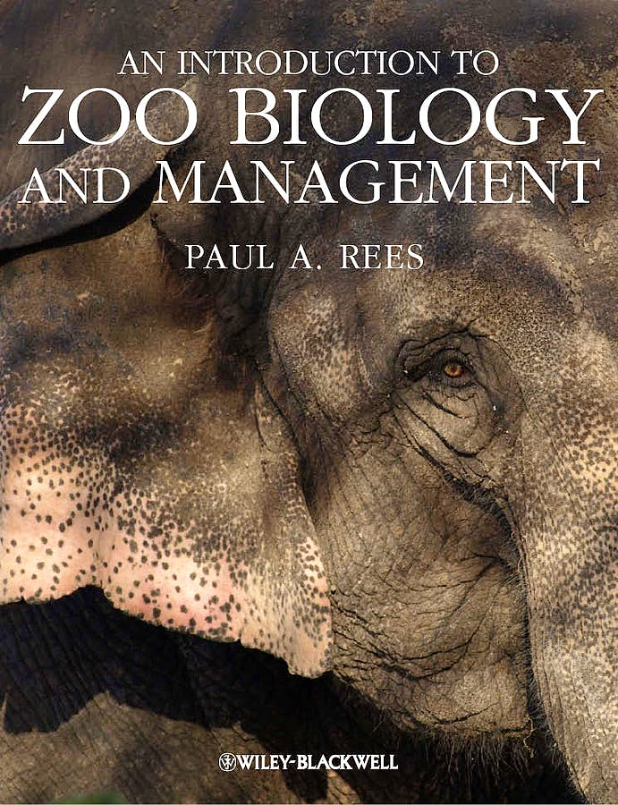 Portada del libro 9781405193498 An Introduction to Zoo Biology and Management (Hardcover)