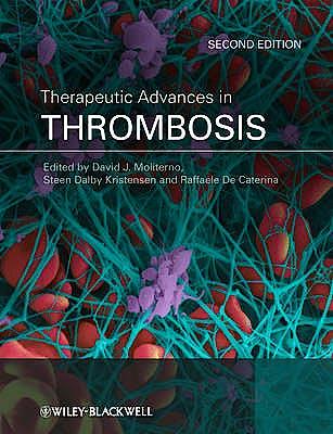 Portada del libro 9781405196253 Therapeutic Advances in Thrombosis