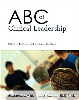 Portada del libro 9781405198172 Abc of Clinical Leadership