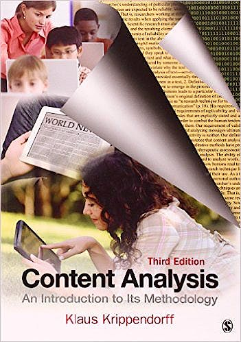 Portada del libro 9781412983150 Content Analysis. an Introduction to Its Methodology