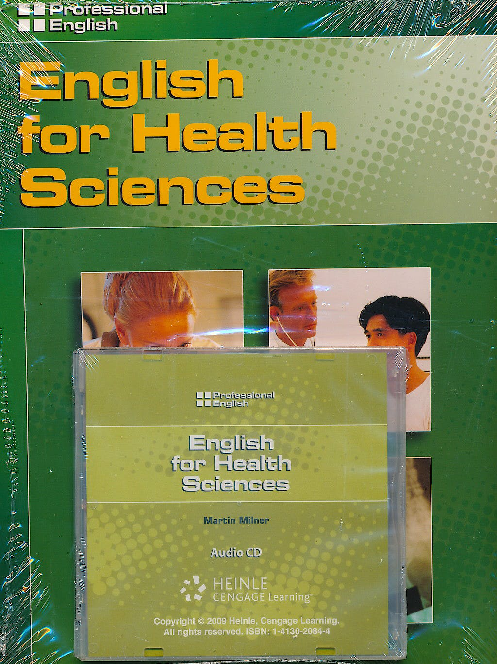 Portada del libro 9781413020892 English for Health Sciences: Student's Book with Audio Cd (Professional English Series - Medical, Nursing, Doctors)
