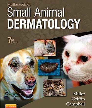 Portada del libro 9781416000280 Muller and Kirk's Small Animal Dermatology