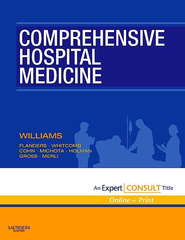 Portada del libro 9781416002239 Comprehensive Hospital Medicine (Online and Print)
