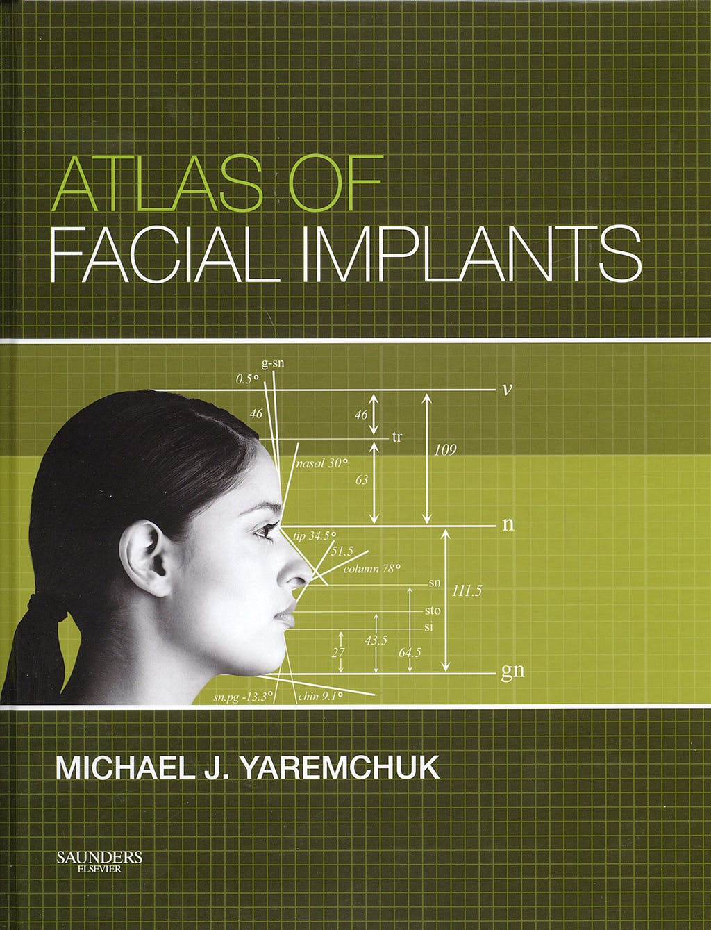 Portada del libro 9781416002673 Atlas of Facial Implants