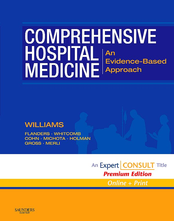 Portada del libro 9781416002970 Comprehensive Hospital Medicine Premium Edition