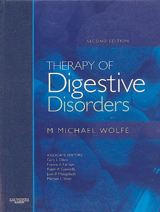 Portada del libro 9781416003175 Therapy of Digestive Disorders