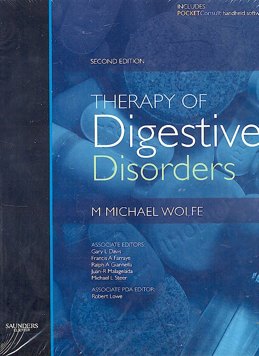 Portada del libro 9781416003182 Therapy of Digestive Disorders: Textbook and Downloadable Pda Package
