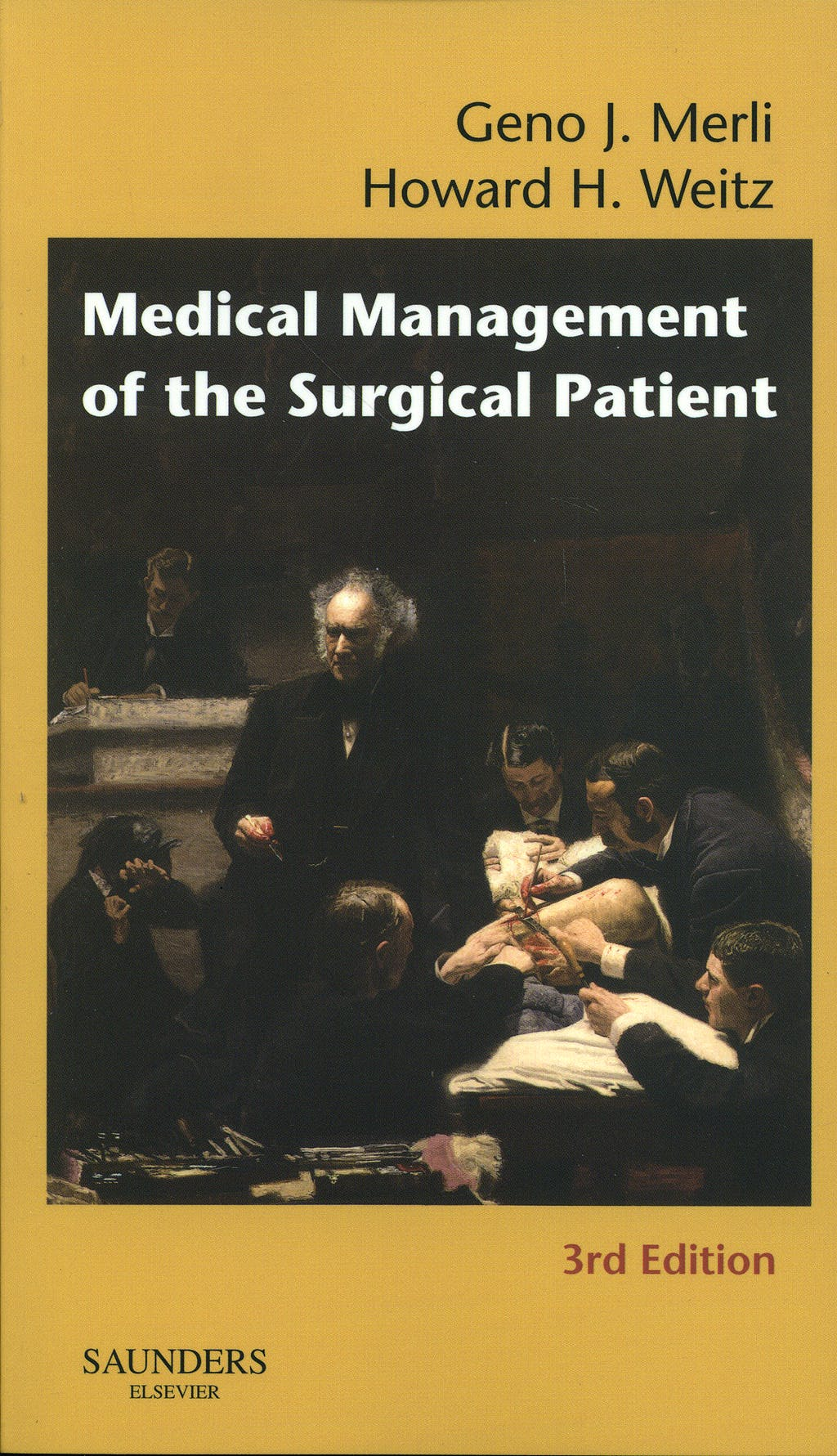 Portada del libro 9781416023852 Medical Management of the Surgical Patient