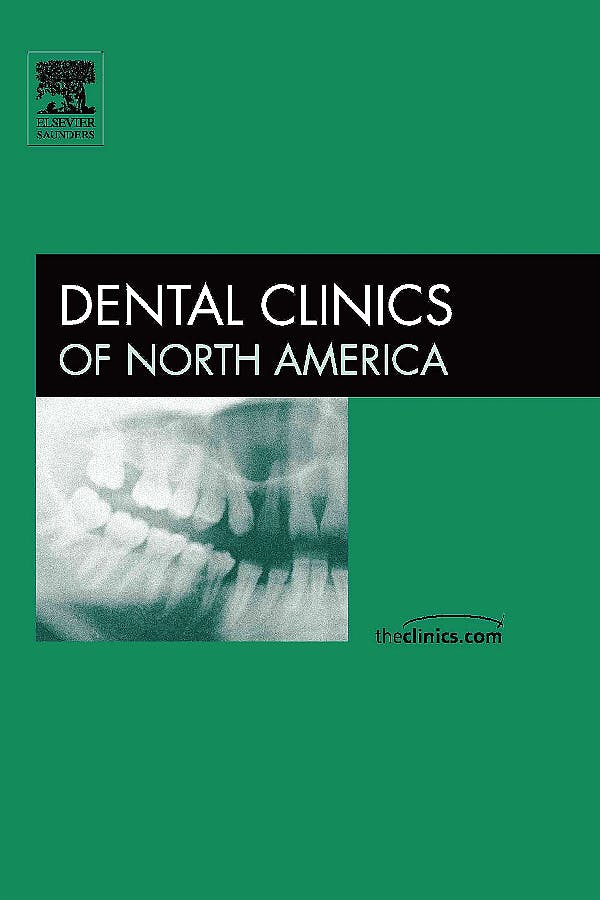 Portada del libro 9781416028215 Periodontics, an Issue of Dental Clinics, Vol. 49-3