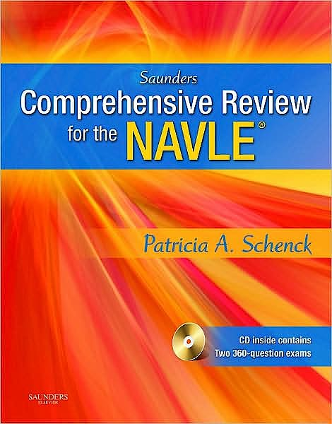 Portada del libro 9781416029267 Saunders Comprehensive Review for the Navle® + Cd-Rom