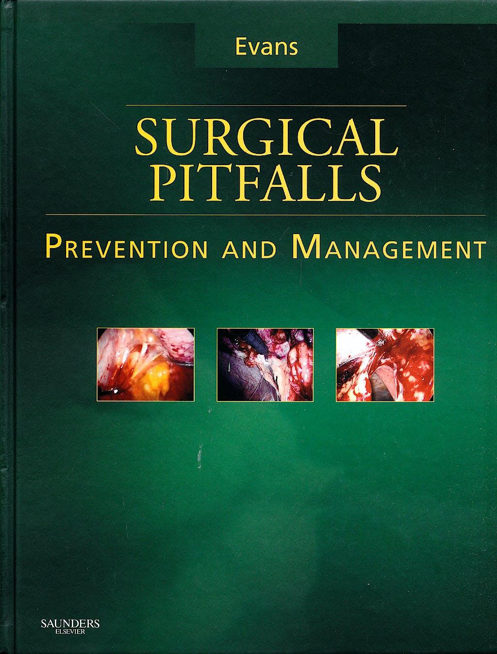 Portada del libro 9781416029519 Surgical Pitfalls. Prevention and Management