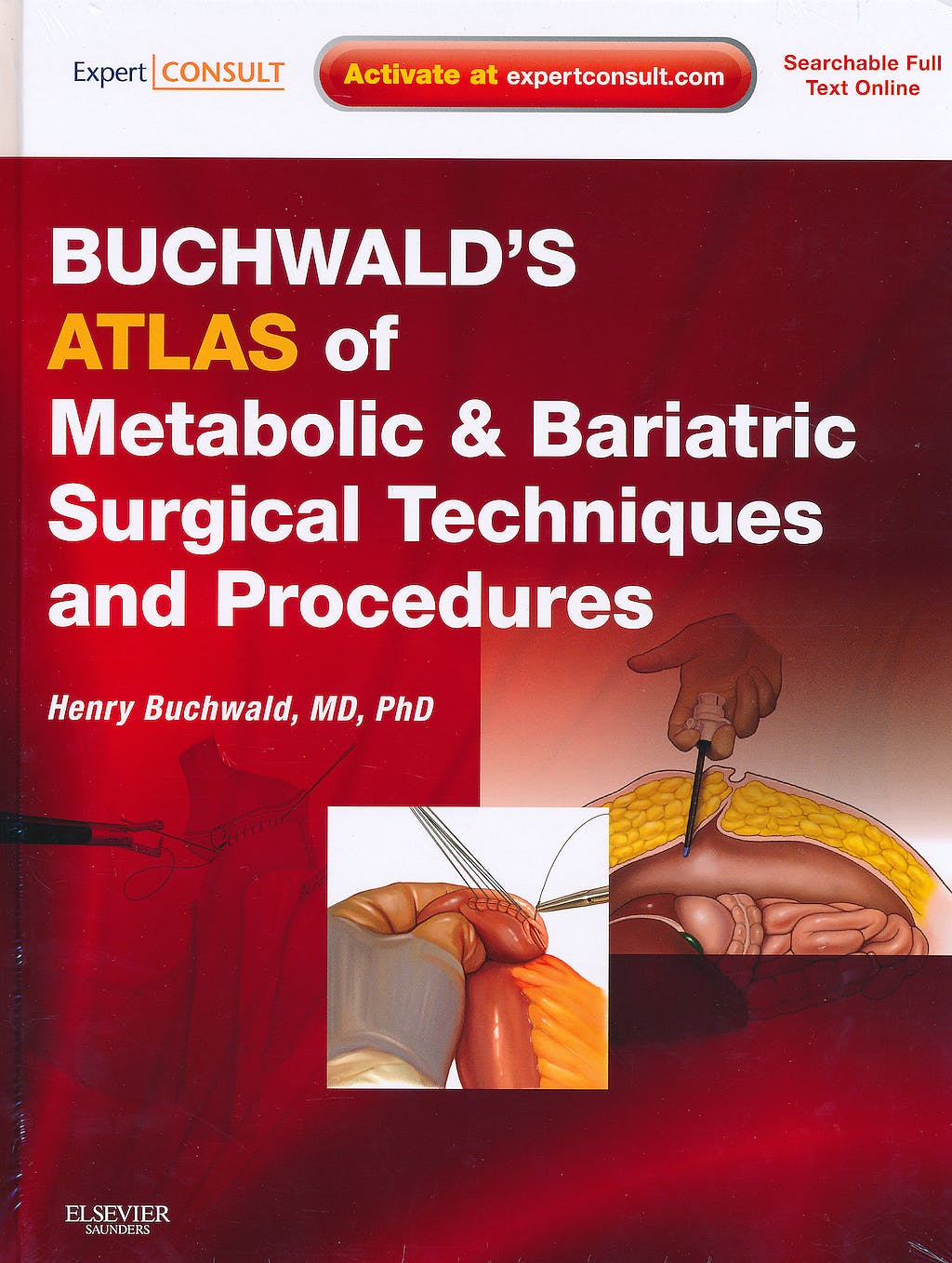 Portada del libro 9781416031062 Buchwald's Atlas of Metabolic and Bariatric Surgical Techniques and Procedures (Online and Print)