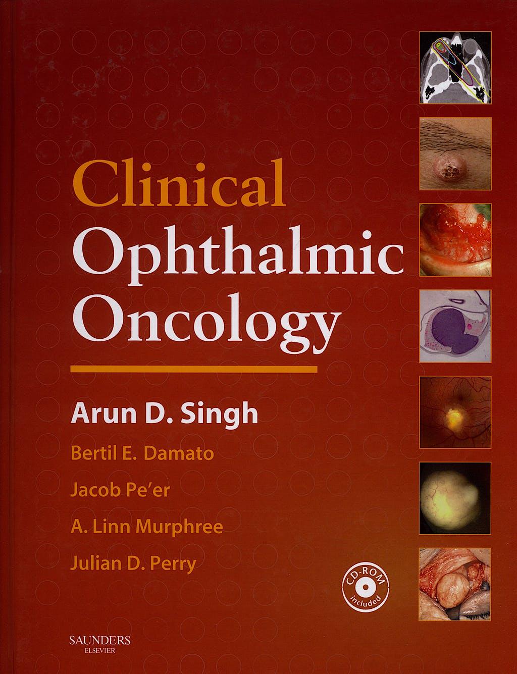 Portada del libro 9781416031673 Clinical Ophtalmic Oncology