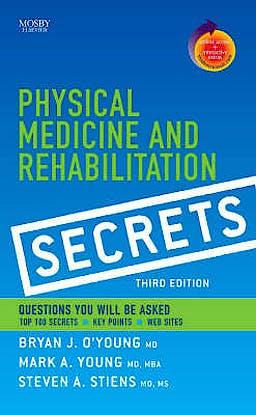 Portada del libro 9781416032052 Physical Medicine and Rehabilitation Secrets + Online Access