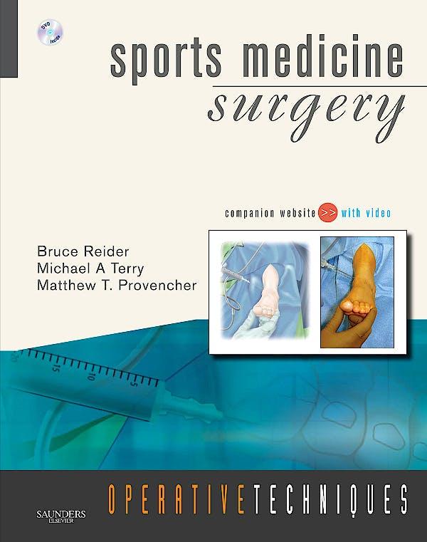 Portada del libro 9781416032779 Sports Medicine Surgery. Operative Techniques + Dvd