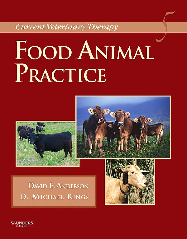 Portada del libro 9781416035916 Current Veterinary Therapy. Food Animal Practice