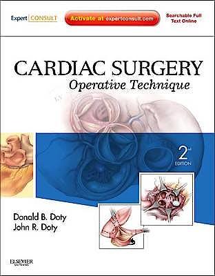 Portada del libro 9781416036531 Cardiac Surgery. Operative Technique (Online and Print)